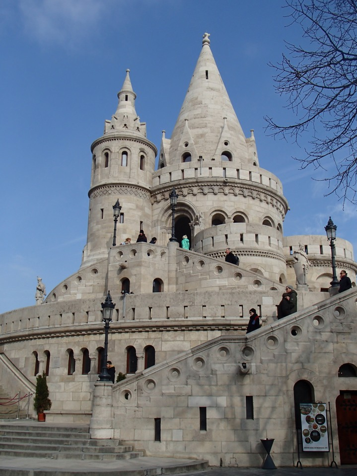 How cool is this Fisherman's Bastion?!
