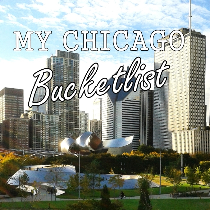 Chicago Bucketlist